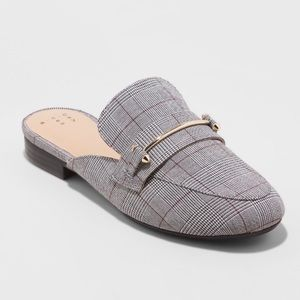 Women's Remmy Plaid Backless Loafers